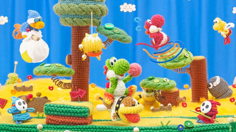 Test – Yoshi's Woolly World : de la douceur dans ce monde