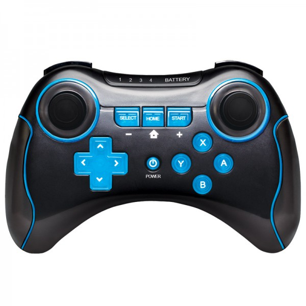 test manette pro d 39 i con pour la wii u un pad au prix. Black Bedroom Furniture Sets. Home Design Ideas
