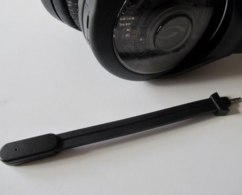 Le micro de l'AG 9 est détachable, mais du coup moins flexible