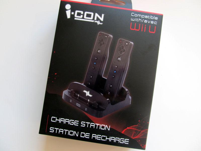 Test – Station de recharge pour Wiimote et GamePad d'I-Con