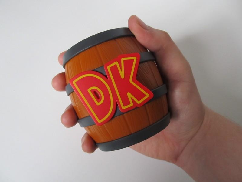 Avis : Tonneau de rangement Donkey Kong pour cartouches 3DS -PDP