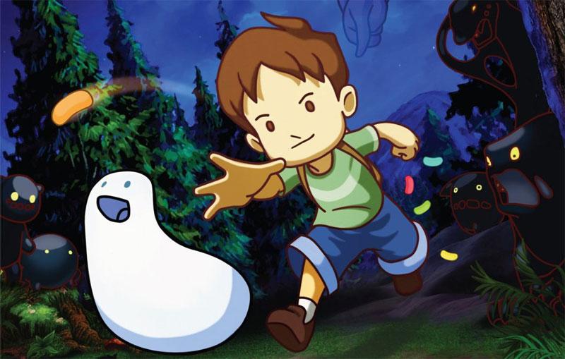 A Boy and His Blob : un petit trailer avant sa sortie