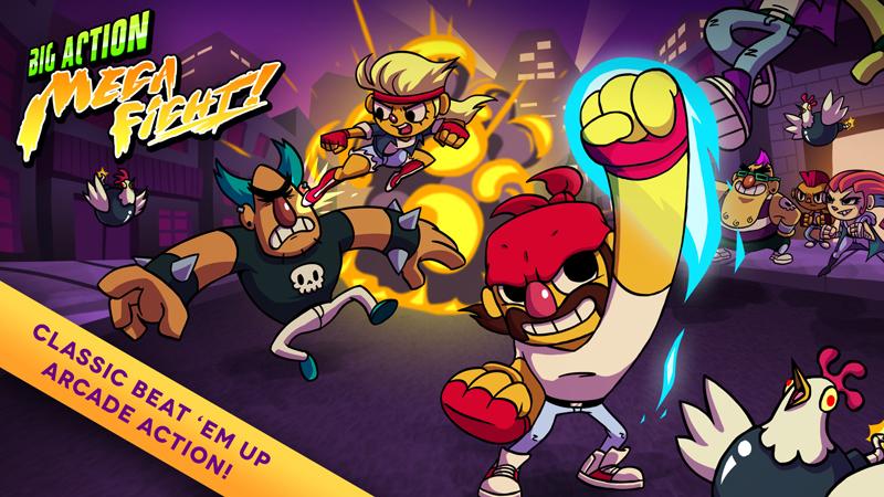Test – Big Action Mega Fight : un peu de combat dans ce monde de brutes