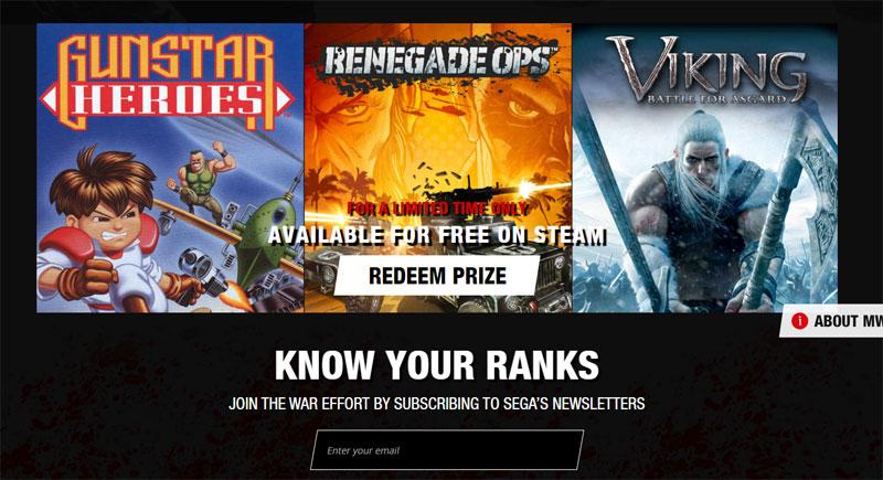 Sega vous offre Gunstar Heroes et deux autres jeux sur Steam