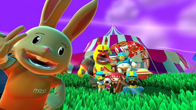 Test – Blast'Em Bunnies : il y a pas que les lapins qui sont crétins