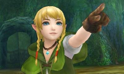Ho, Link avec des tresses