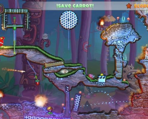 Sur la fin du jeu, certains niveaux commencent à être coriaces
