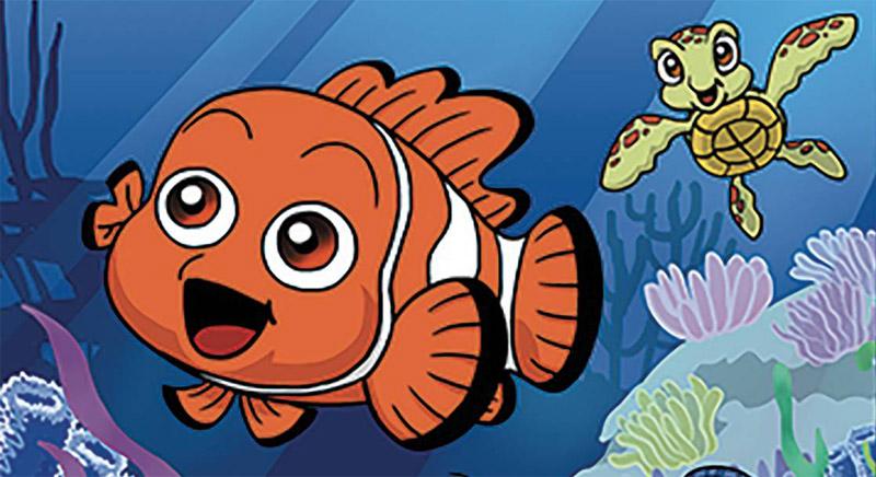 Manga :  Disney – Pixar, Le monde de Nemo chez TokyoPop