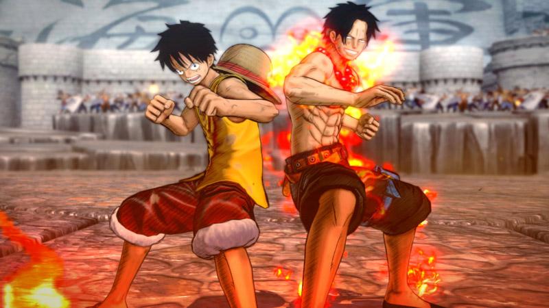 Test – One Piece Burning Blood : des pirates et du manga