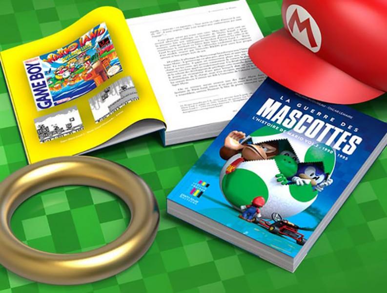 La guerre des mascottes – L'histoire de Mario Vol.2 : notre avis sur un livre haut en couleurs
