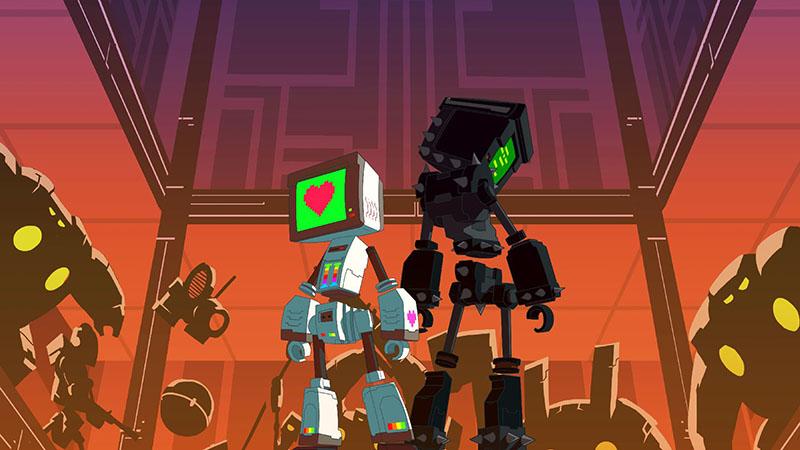 Test – Heart&Slash : des robots à mettre en pièce