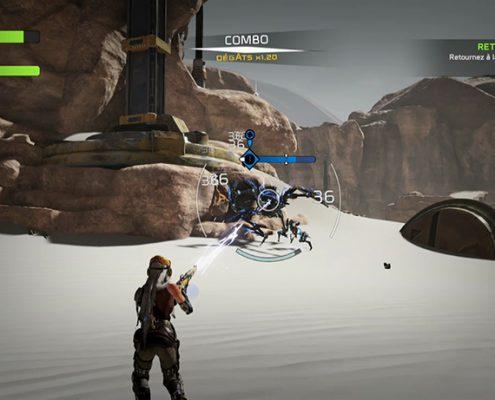 Nos compagnons sont utiles durant les combats, mais aussi durant l'exploration