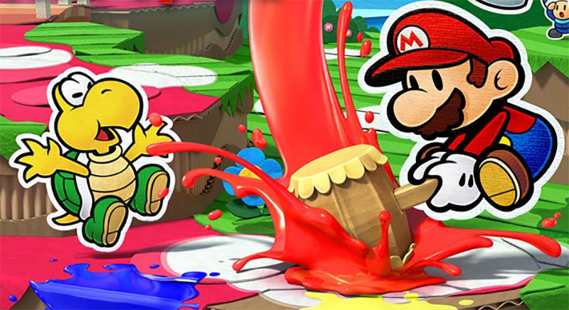 Test – Paper Mario : Color Splash – Quand les couleurs ne vont plus sur Wii U !