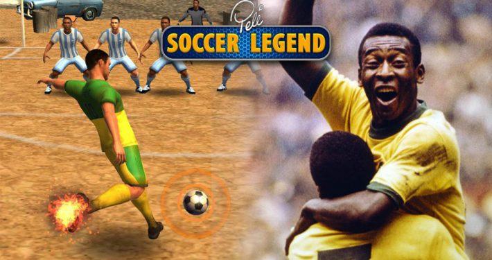 Jouer en incarnant une star du football dans Pele : Soccer Legend