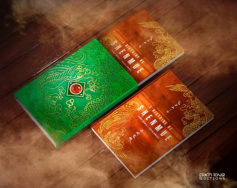 L'histoire de Shenmue, éditions Pix'n Love : notre avis