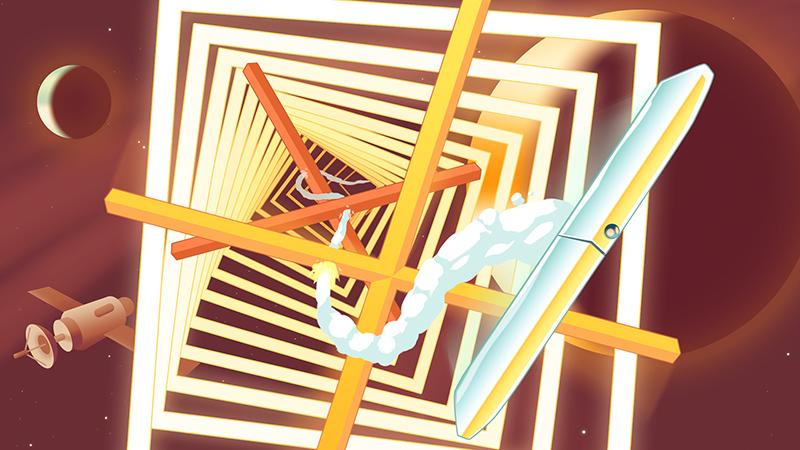 Test – Flywrench : un bâton lâché dans l'univers