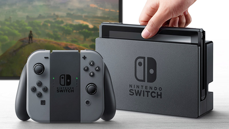 Switch : premiers chiffres de ventes au Royaume-Uni
