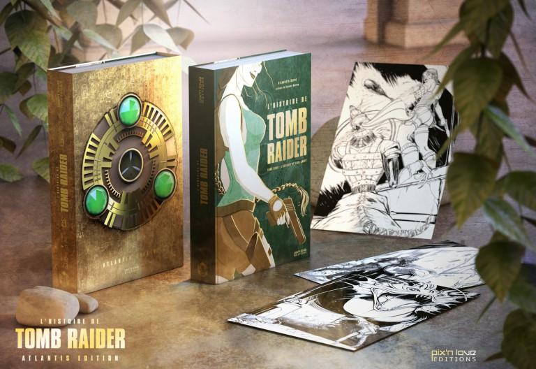 L'Histoire de Tomb Raider, chez Pix'n Love : notre avis