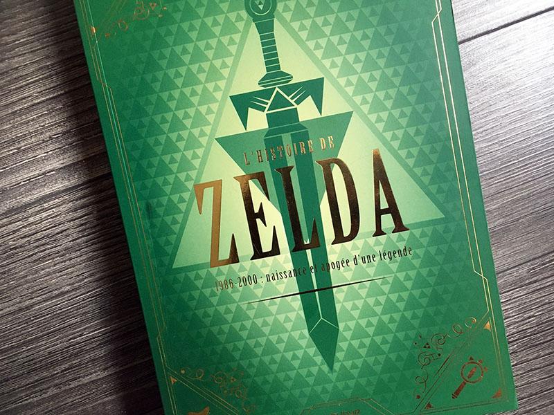 Notre avis sur L'histoire de Zelda 1986-2000 Naissance et apogée d'une légende