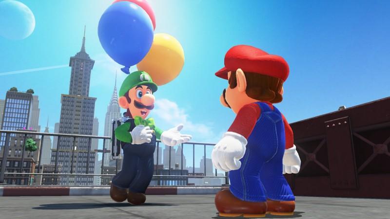 Super Mario Odyssey : une mise à jour gratuite pour les Ballons de Luigi