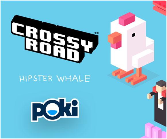 Crossy Road : Attention à La Route