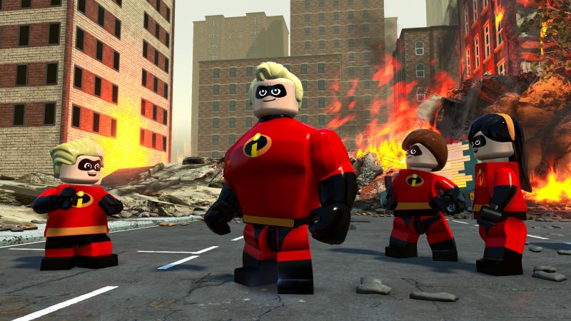 LEGO Les Indestructibles : trailer de gameplay