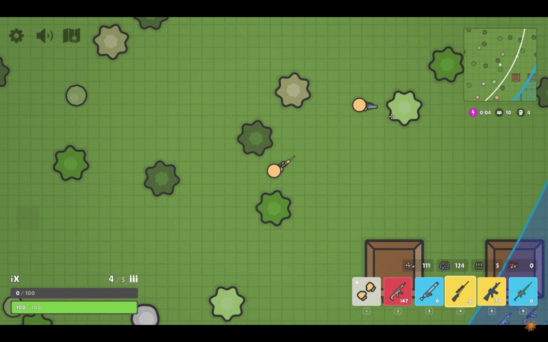 Zombs Royale.io : Un jeu gratuit de Battle Royale