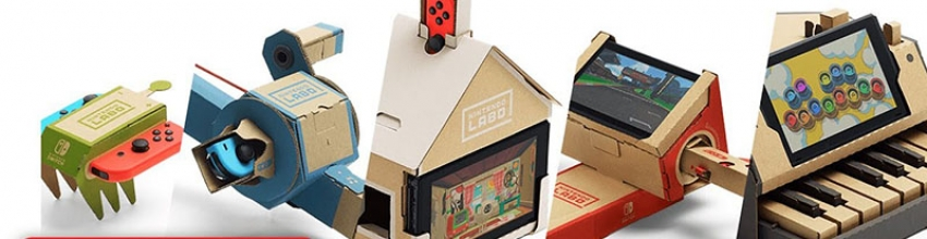 Test – Nintendo Labo Toy-Con 01 Variety Kit : un vrai carton ludique