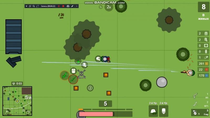 Surviv.io : Du Battle Royale gratuit et amusant