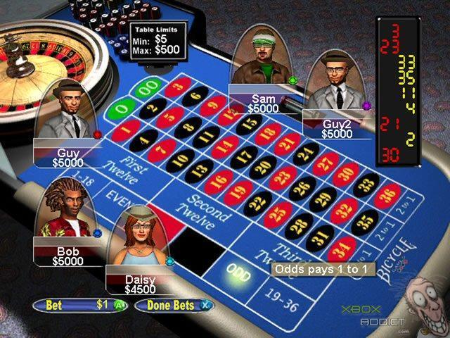 Les meilleurs jeux de Casino sur Xbox