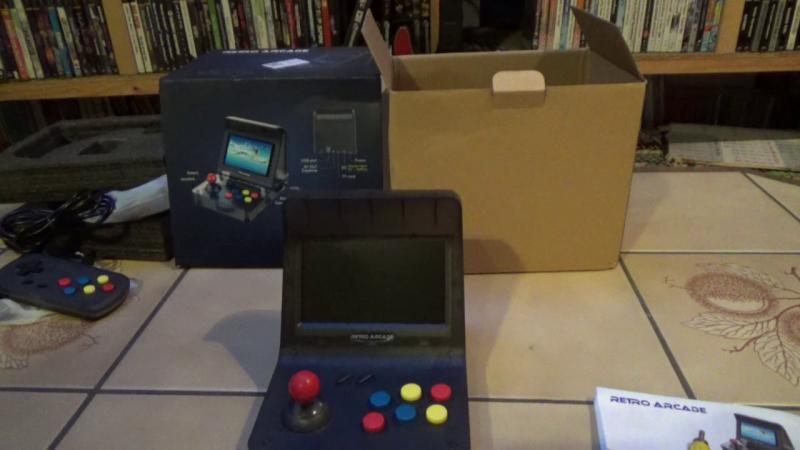 Le petit monde de YellowMan – Déballage d'une Retro Arcade RS-07